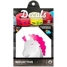 REFLECTIVE BERLIN Decals Pegatina Reflectora, rosa